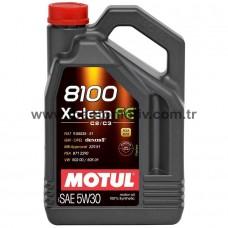 Motul 8100 X-Clean 5W30 Motor Yağı (4 litre)